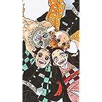 鬼滅の刃 iPhone8,7,6 Plus 壁紙(1242×2208) 竈門炭治郎,竈門禰󠄀豆子,我妻善逸,嘴平伊之助
