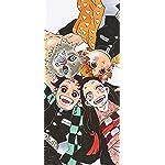 鬼滅の刃 iPhone X 壁紙(1125x2436) 竈門炭治郎,竈門禰󠄀豆子,我妻善逸,嘴平伊之助