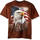 The Mountain Independence Eagle Adult T-Shirt