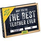 KNOCK KNOCK Fill in The Love Journal - Best Teacher Ever