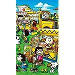 スヌーピー iPhoneSE/5s/5c/5(640×1136)壁紙 ピーナッツ ワゴンショップ