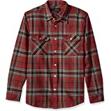 BRIXTON Men's Bowery Long Sleeve Standard Fit Flannel