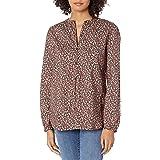 Amazon Brand - Goodthreads Women's Lightweight Cotton Long Fashion-Sleeve Shirt
