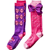 Nickelodeon Big Girls' Jojo Siwa 2 Pack Knee High