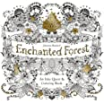 Enchanted Forest: An Inky Quest & Coloring Book: An Inky Quest and Coloring book (Activity Books, Mindfulness and Meditation,