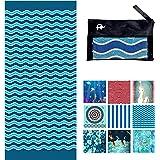 Elite Trend Microfiber Beach Towel for Travel - Oversized XL 78x35,72x72,63x63,63x31,71x31Inch Quick Drying, Lightweight, Fas