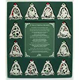Cathedral Art 12 Days of Christmas Ornament Set One Size Multi