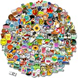 200 PCS Stickers Pack (50-500Pcs/Pack), Colorful Waterproof Stickers for Flask, Laptop, Phone, Water Bottle, Cute Aesthetic V