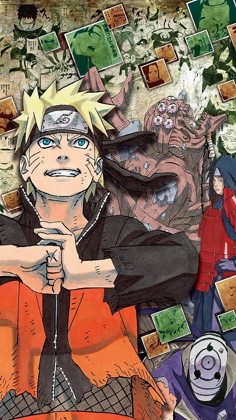 Naruto ナルト うずまきナルト Iphone Se 8 7 6s 750 1334 壁紙 画像 スマポ