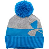 Under Armour Mens Under armour Boys' pom Beanie upd 1300090, Mens, Under armour Boys' pom Beanie upd, 1300090