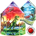 W&O Dinosaur Discovery Kids Tent with Roar Button, an Extraordinary Dinosaur Tent, Pop Up Tent for Kids, Dinosaur Toys for Ki