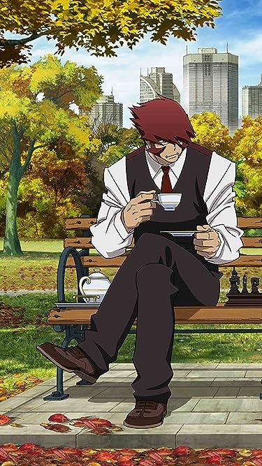 血界戦線  iPhone/Androidスマホ壁紙(720×1280)-1 - お茶をしながらチェスをするクラウス