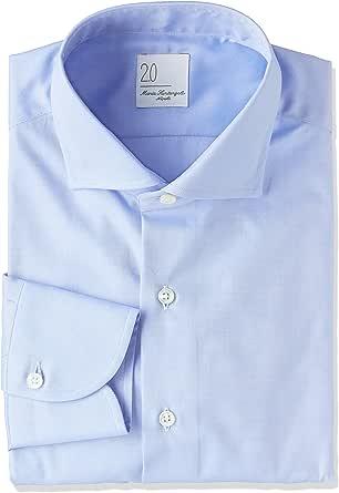 (マリアサンタンジェロ)Maria Santangelo TWILL 27977 ワイドシャツ MEN'S SHIRT SLIM