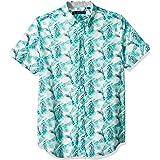 Ben Sherman Men's SS Palm Leaf Print Shirt