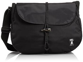 Nylon Shelter Bag 7581-601-5026: Black
