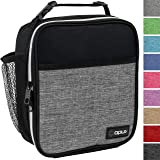 OPUX Premium Insulated Lunch Box | Soft Leakproof School Lunch Bag for Kids, Boys, Girls | Durable Reusable Work Lunch Pail C