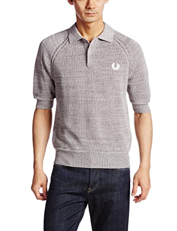 Knit Polo Shirt FS3108 14080310003210: Grey