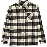 Volcom Men's Neo Glitch Button Up Flannel Shirt