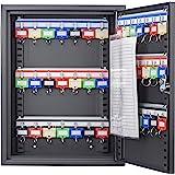 Barska 42 Position Key Cabinet with Key Lock, Black