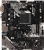 ASRock AMD Ryzen AM4 対応 A320 チップ搭載 MicroATX マザーボード A320M-HDV R4.0