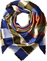 French Connection Women's Woolen Check Scarf