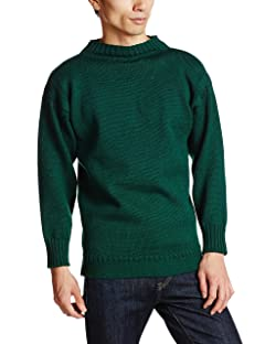 Guernsey Woollens Traditional: Bottle Green