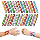 Unicorn Slap Bracelet Party Favors - Snap Bracelets For Birthday Goodie Bag Stuffers