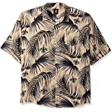 FOCO Men's NFL Floral Tropical Button Up Shirt