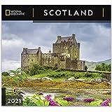 National Geographic Scotland 2021 Wall Calendar