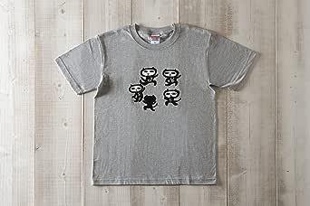 黒猫探偵社【8ダンス】ネコ柄Tシャツ ミックスクレー メンズ&レディース (XL)
