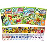 Leap Frog Learning Pack # 3 (Learn to Read at the Storybook Factory / Math Circus / The Amazing Alphabet - Amusement Park / L