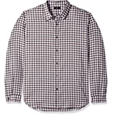 Theory Men's Tonal Flannel Button Down Woven