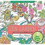 Zen Garden Adult Coloring Book (31 stress-relieving designs)