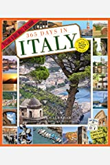 365 Days in Italy Picture-a-Day Wall Calendar 2018 Calendar