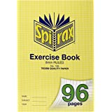 SPIRAX 56108 108 A4 Exercise Book with 8MM Ruling (96 Pages)