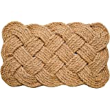 Iron Gate - Natural Jute Rope Woven Doormat 18x30 - Single Pack - 100% All Natural Fibers - Eco-Friendly - Classic Interwoven