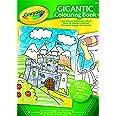 CRAYOLA 04-1407-E-000 Gigantic Coloring Book 128pg