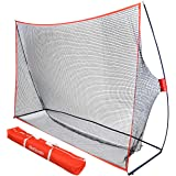 GoSports Golf Practice Hitting Net   Choose Between Huge 10' x 7' or 7' x 7' Nets   Personal Driving Range for Indoor or Outd