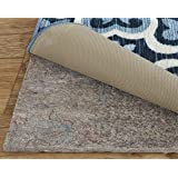 Mohawk Home Dual Surface Felt Non Slip Rug Pad 9'x12' 1/4 Inch Thick Safe for All Floors
