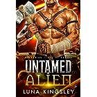 Untamed Alien (An Alien Breeder Romance): Barbarian Clans of Xavren
