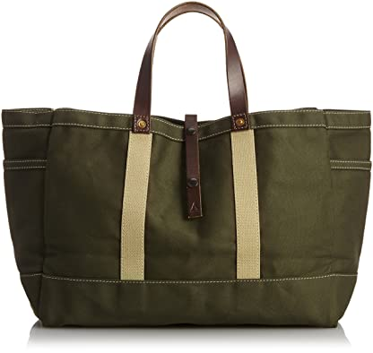 Artifact Bag Tool & Garden Tote Waxed Canvas 175: Olive Twill