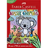 Faber-Castell 84-010182 Aussie Animals A4 colouring book