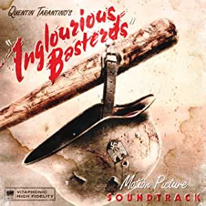 QUENTIN TARANTINO'S INGLOURIOUS BASTERDS MOTION PICTURE SOUNDTRACK [BLOOD RED TRANSLUCENT VINYL] [Analog]