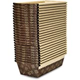Honey-Can-Do Junior Loaf Pan, 25-Pack, 6-Inches x 2.5-Inches x 2-Inches