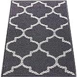 OLANLY Indoor Doormat, 20x32, Non-Slip Absorbent Resist Dirt Entrance Rug, Machine Washable Low-Profile Inside Floor Mat Area