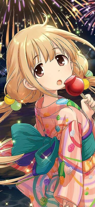 アイドルマスター  iPhone/Androidスマホ壁紙(207:448)-1 - 双葉杏 浴衣