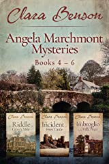 Angela Marchmont Mysteries: Books 4-6 (The Riddle at Gipsy's Mile, The Incident at Fives Castle, The Imbroglio at the Villa Pozzi) (An Angela Marchmont Mystery Boxset Book 2) Kindle Edition