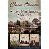 Angela Marchmont Mysteries: Books 4-6 (The Riddle at Gipsy's Mile, The Incident at Fives Castle, The Imbroglio at the Villa P