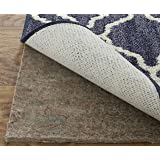 Mohawk Home Dual Surface Felt and Latex Non Slip Rug Pad 4'x6' 1/4 Inch Thick Safe for Hardwood Floors and All Surfaces