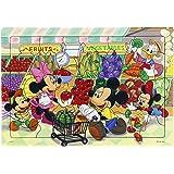 40ピース 子供向けパズル ディズニー スーパーでおかいもの シルエットピースシリーズ 【チャイルドパズル】